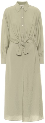 Vince Crepe shirt dress