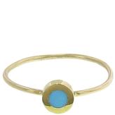 Jennifer Meyer Turquoise Inlay Circle Ring