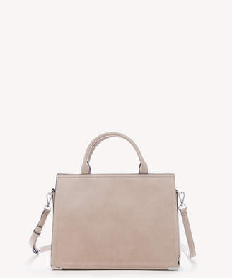 Sole Society Women's Cwen Satchel Faux Leather In Color: Taupe Bag From