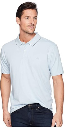 Dockers Solid Signature Polo (Skyway) Men's Clothing