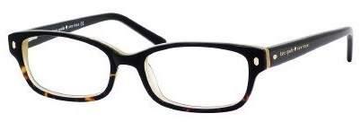 Kate Spade new york Lucyann Eyeglasses-0JYY Black Tortoise Fade -47mm