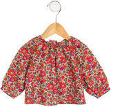 Bonpoint Girls' Floral Printed Top