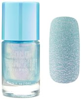 Forever 21 Blue Holographic Nail Polish