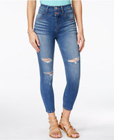Celebrity Pink Body Sculpt by Juniors' Slimming Cropped Skinny Jeans
