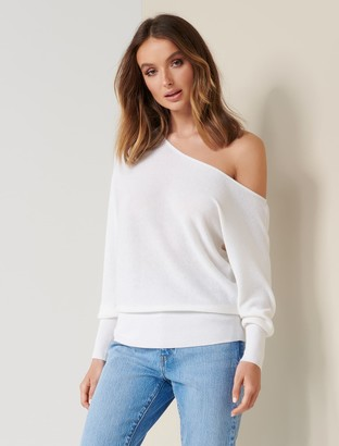 Forever New Sadie Tip Shoulder Jumper - Porcelain - l