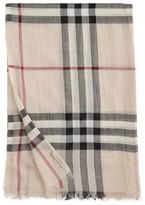 Burberry Wool/Silk Scarf