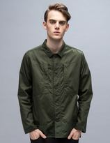 White Mountaineering Cotton Military Shirt Jacket