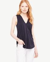 Ann Taylor Home Tops + Blouses Matte Jersey V-Neck Shell Matte Jersey V-Neck Shell
