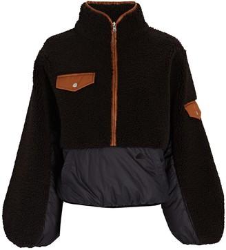 Frame Fleece Mix Half-Zip Sweatshirt