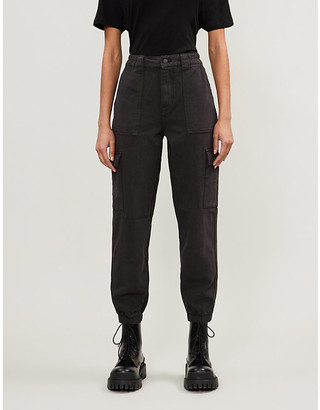 Pacsun Patch-pocket tapered high-rise jeans