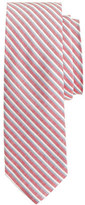 J.Crew Cotton-silk tie in heritage red stripe