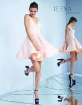 Mac Duggal 48478 V-Neck Flutter Cocktail Dress