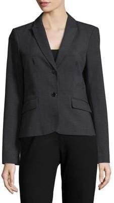 Calvin Klein Plus Double Button Suit Jacket