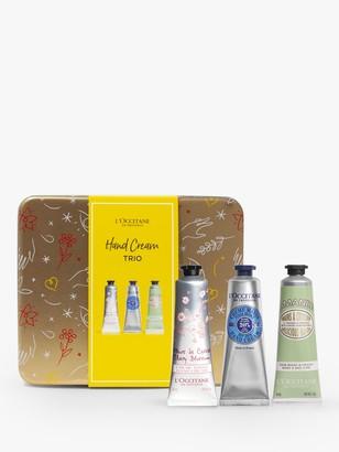 L'Occitane Hand Cream Trio Festive Collection Bodycare Gift Set