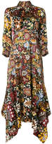 Peter Pilotto floral tapestry maxi dress