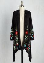 Asha International, Inc Bloom Service Delivery Floral Cardigan