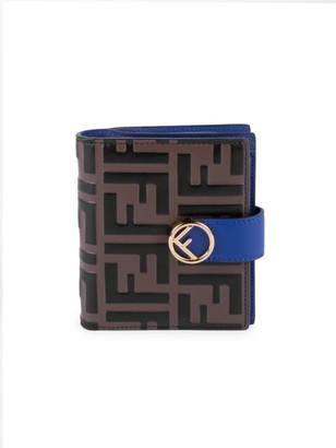 Fendi F Is 1974 Leather Bi-Fold Wallet