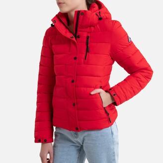 Superdry Hooded Zipped Padded Jacket