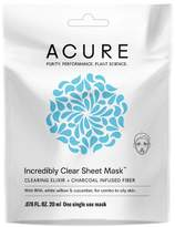 Acure Organics Acure Incredibly Clear Sheet Mask - 1ct