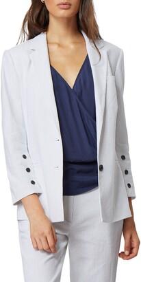 Habitual Blake Button Sleeve Blazer