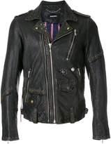 Diesel L-State leather jacket