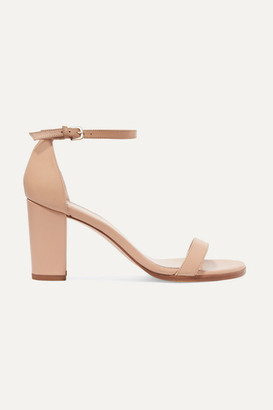 Stuart Weitzman Nearlynude Leather Sandals - Neutral