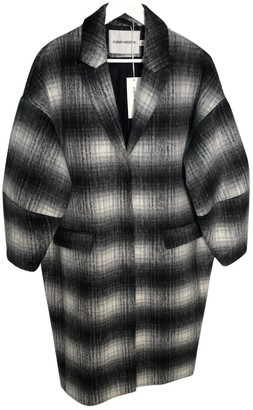 Carin Wester Grey Coat for Women