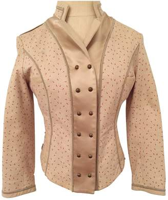 3.1 Phillip Lim \N Ecru Leather Jackets