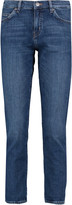 MiH Jeans Cropped mid-rise straight-leg jeans