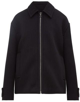 Raey Harrington Wool Jacket - Navy