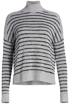 Rag & Bone Avryl Striped Turtleneck