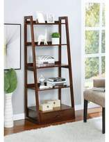 Three Posts Frey 5 Shelf Ladder Bookcase Color: Cherry