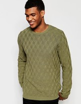 Asos Sweater with Square Texture