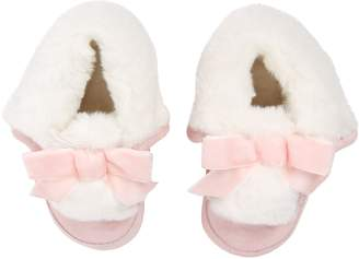 Robeez Willa Faux Fur Lined Crib Shoe