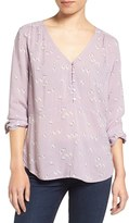 Hinge Women's Shirred Blouse