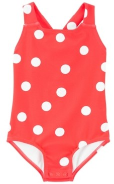 Carter's Baby Girl Polka Dot Swimsuit