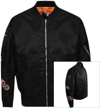 McQ Badge MA1 Jacket Black