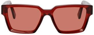 VIU SSENSE Exclusive Red Square Sunglasses