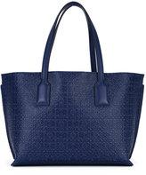 Loewe embossed pattern tote bag