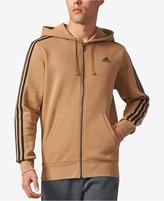 adidas Men's Essential Full-Zip Fleece Hoodie