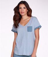 Karen Neuburger Knit Sleep Top