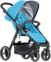 Phil & Teds Blue Smart Stroller
