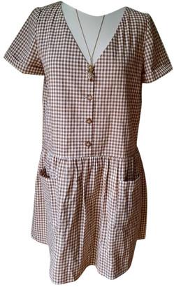 Sã©Zane SAzane Spring Summer 2020 Brown Polyester Dresses