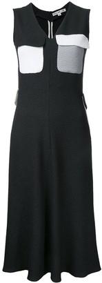 Edeline Lee Ocean Park v-neck dress