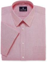 Stafford Travel Short-Sleeve Broadcloth Dress Shirt