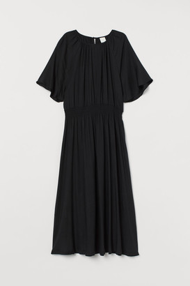 H&M Calf-length Dress - Black