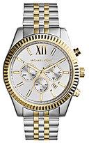 Michael Kors Men's Lexington Two-Tone Stainless Steel Chronograph Bracelet Watch