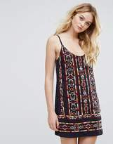 French Connection Beaded Sheer Strappy Dress