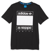 adidas Boy's Art Of Mesh T-Shirt