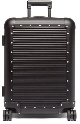 Fabbrica Pelletterie Milano Bank Spinner 55 Cabin Suitcase - Black